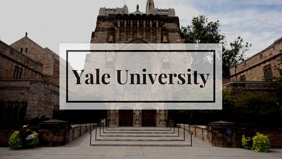 поступление в Йельский университет