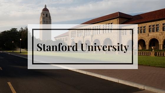 Поступление в Стэндфордский университет
