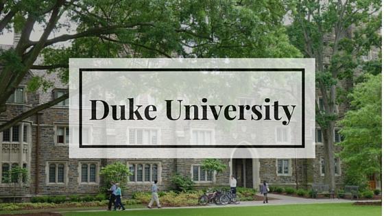 Поступить в Университет Дьюка