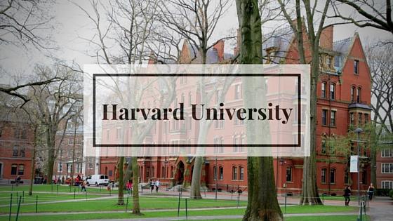 поступление в гарвардский университет