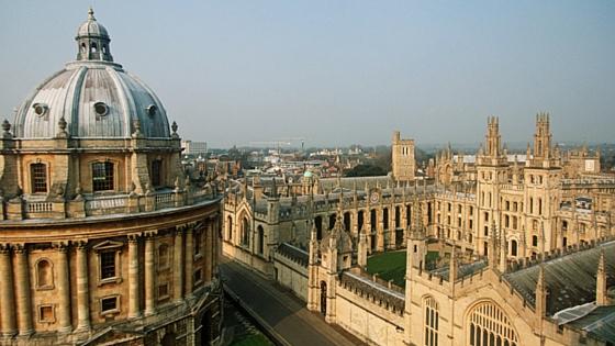 Университеты Великобритании: Оксфордский университет