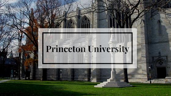 Принстонский университет поступление