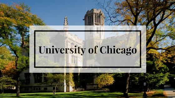 Поступление в Чикагский университет